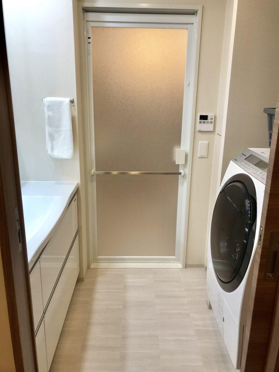 新築マンション洗面所