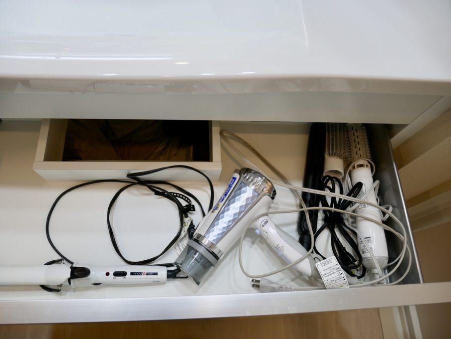 洗面台下収納