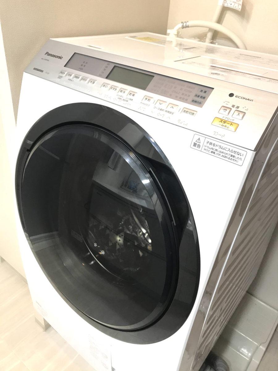 ドラム式洗濯機故障